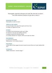 isupnat revue de presse juin 2013 1