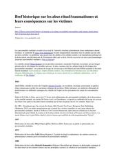 Fichier PDF bref historique sur les abus rituels