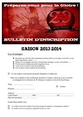 bulletin d adhesion 2013 14