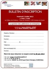 bulletin d inscription seminaire formation