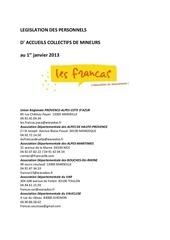 Fichier PDF legislation personnels acm 2013