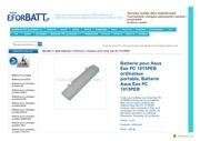 www eforbatt com asus eee pc 1015peb html