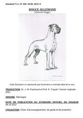 standard dogue allemand 2012