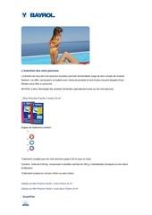 Fichier PDF bayrol minipiscine