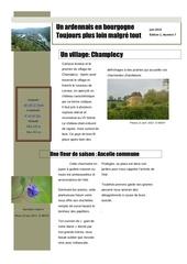 un ardennais en bourgogne journal mensuel juin 2013