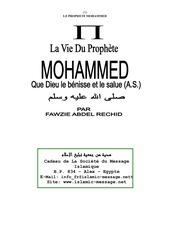 Fichier PDF la vie du prophete mohammed