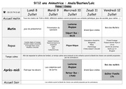 plannings activitees 9 12 ans