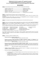 reglement exposition 2013 1