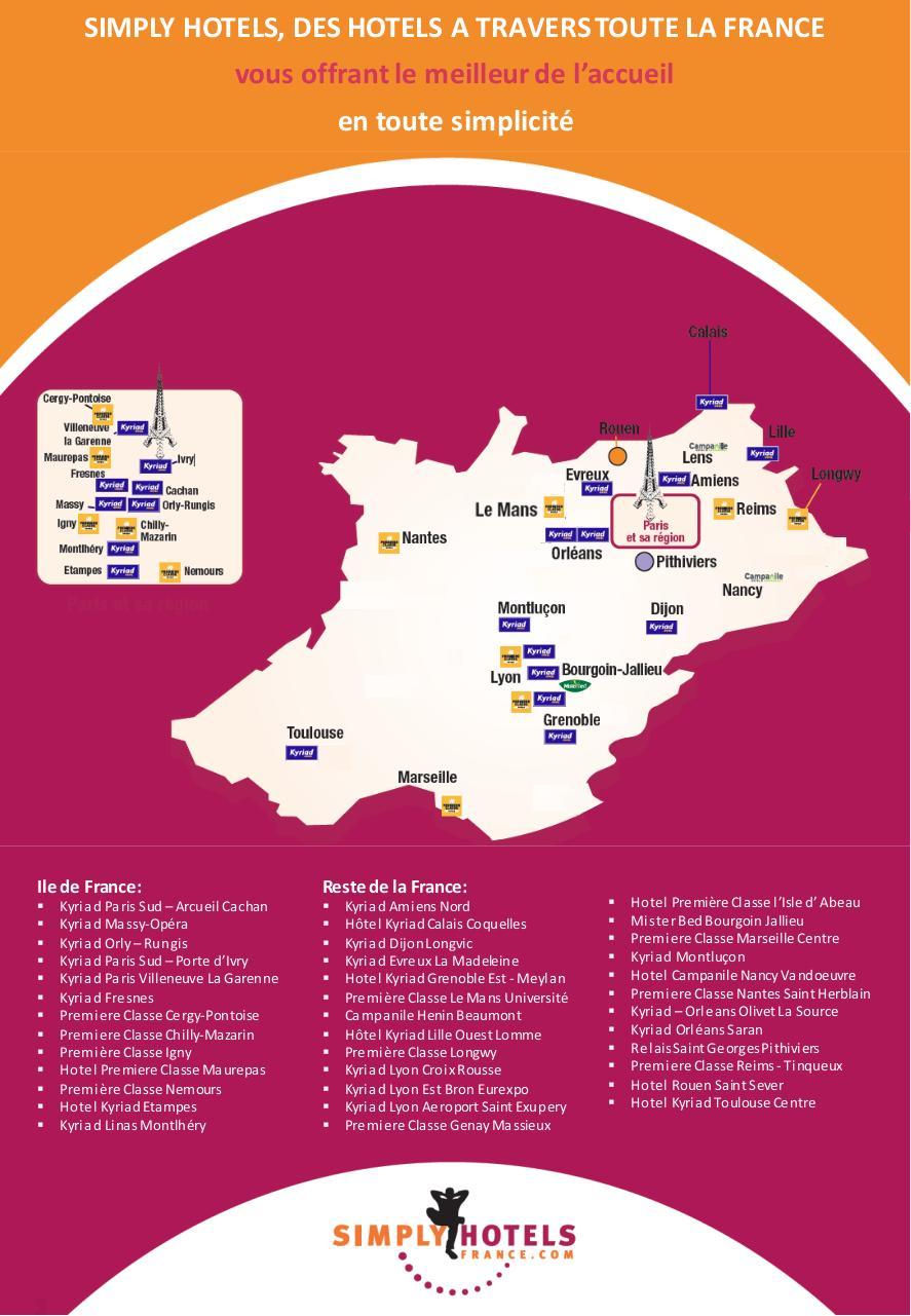 carte hotel premiere classe Présentation PowerPoint par Egencia Europe   Carte Simply pdf