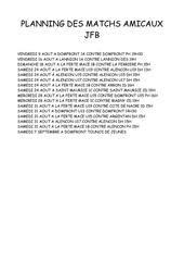 Fichier PDF planning match amicaux 2012 2013