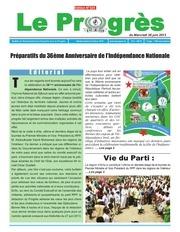 journal le progres n 324 du mercredi 26 juin 2013