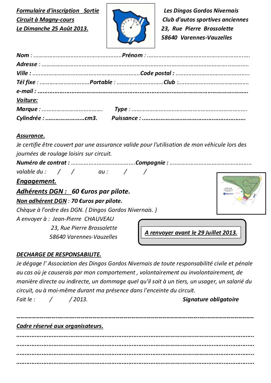 Formulaire engagement Magny-cours.pdf - page 1/2