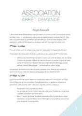 Fichier PDF projet associatif