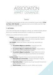 Fichier PDF statuts