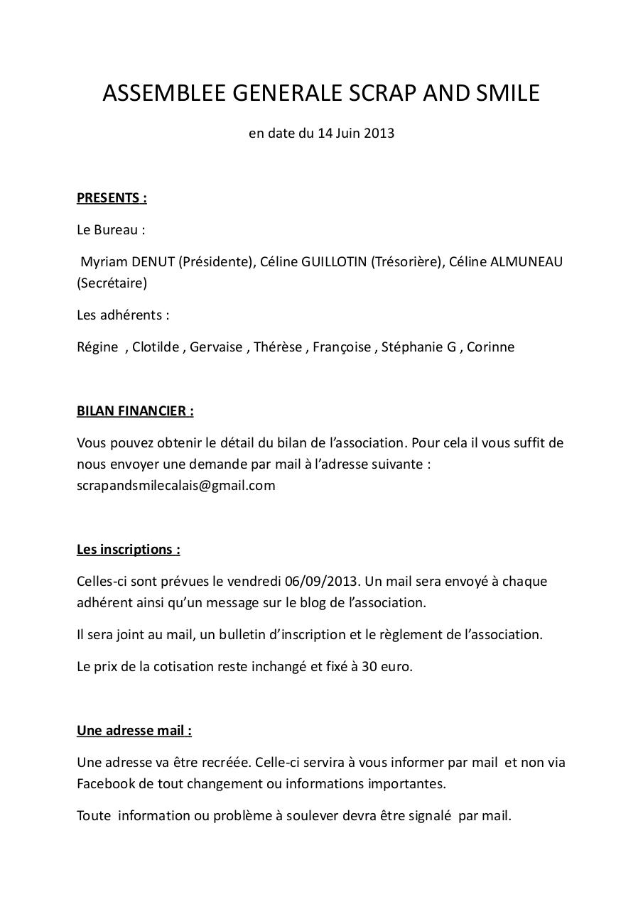 ASSEMBLEE GENERALE SCRAP AND SMILE 2013.pdf - page 1/4