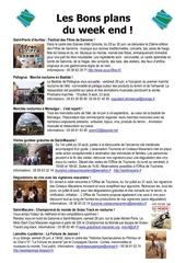les bons plans du week end semaine n 26 2013