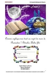 livret le ramadan explique aux enfants partie 1