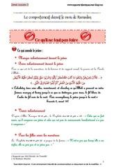 livret le ramadan explique aux enfants partie 3