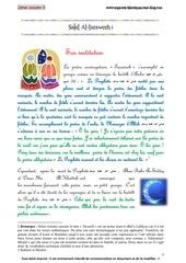 livret le ramadan explique aux enfants partie 5