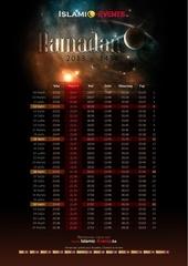 ramadan 2013 calendrier horaire des prieres