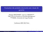 presentationoee2012 13 03 2012 short