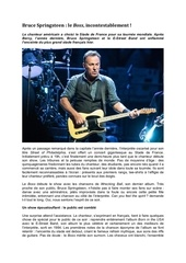 article concert bruce springsteen 1