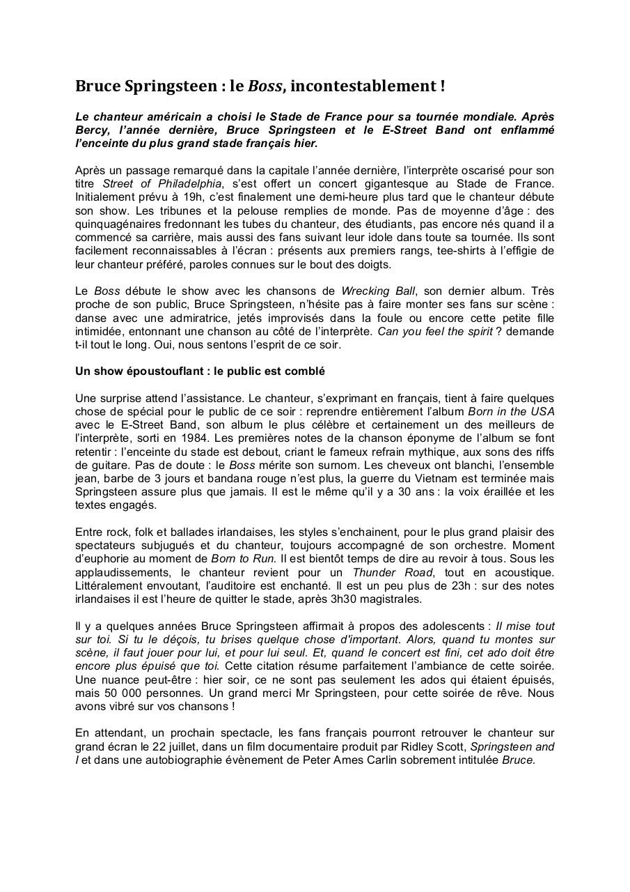 Aperçu du document Article concert Bruce Springsteen.pdf - page 1/1