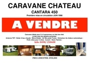 caravane chateau a vendre