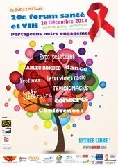 plaquette forum vih 2012