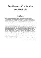 Fichier PDF sentiments confondus volume viii