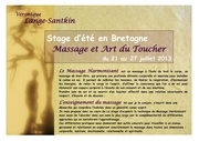 stage massage juillet 2013