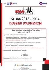 bulletin d adhesion athlete 1
