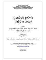 hajj guide french