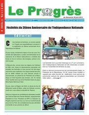 journal le progres n 325 du dimanche 30 juin 2013