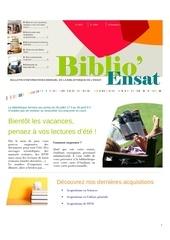 newsletterbiblioensat juillet2013