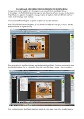 recadrage et correction de perspective d une page
