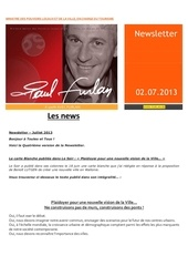 04 paul furlan newsletter juillet 2013