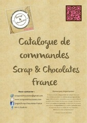 catalogue scrap chocolates actuel