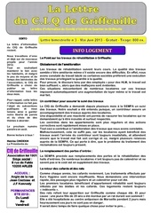 lettre info mai juin 2013