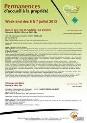 juillet2013 vetc week end permanences