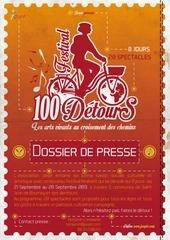 100detours 2013 dossier de presse