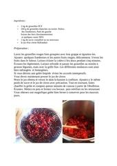 recette de la gelee fruits fdg