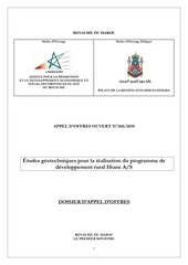 programe du developpement d ifrane
