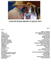 play list 14 juillet 2013