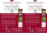 flyer a4 chateau julienas oenotourisme