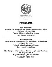 programa 25to congreso aiac iaca 2013