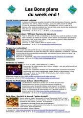 les bons plans du week end semaine n 28 2013
