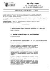 pv seance 5 07 2013