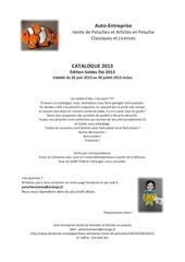 ae catalogue peluches facebook soldes ete 2013