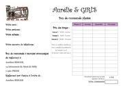 Fichier PDF bon de commande aurelie girls